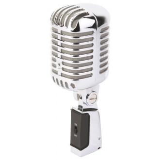PDS-M02 Microfono estilo Retro Cromado - Imagen 1