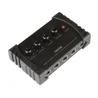 Amplificador De Auriculares 4 Salidas - Imagen 1