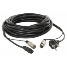 Conexion audio alimentacion/señal XLR 15m