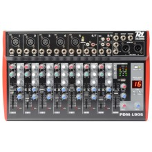 Mezclador 9 Canales Echo Y Reproductor Mp3