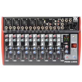 Mezclador 9 Canales Echo Y Reproductor Mp3 - Imagen 1