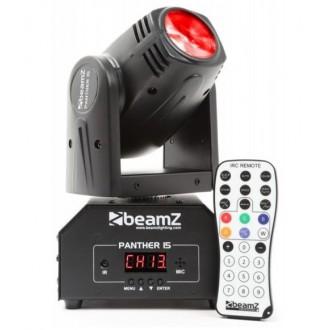 Cabeza Movil Mini LED BeamZ Panther 15 - Imagen 1