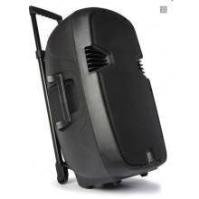 "Bafle movil activo ABS 15"" 2 micros VHF - Imagen 1"
