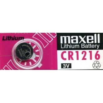 Bateria Litio Maxel CR1216 - Imagen 1