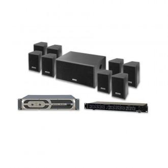 Sistema Amplificado Isx-1500w - Imagen 1