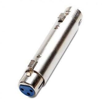 Doble Canon Hembra Adaptador - Imagen 1