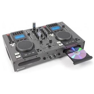 Doble Reproductor Top CD/USB/MP3 y Mezclador - Imagen 1