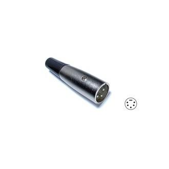 Conector Canon 5 Pines Macho - Imagen 1