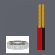 Bobina 100m 2 x1 mm rojo negro