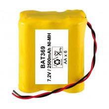 Pack Bateria 7,2v 2500 mAh