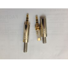 Conector Mini Jack Estereo 3,5mm