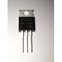 IRF520 Transitor Mosfet - Imagen 1