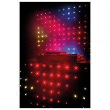 Cortinas LED DJ 2 Tamaños