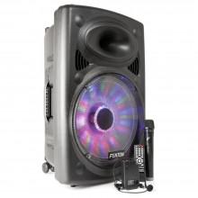 """Sistema portatil de sonido 15"""" BT/VHF/IRC/LED - Imagen 1"""