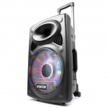 "Altavoz portatil de sonido 12"" BT/VHF/IRC/LED"