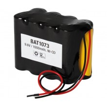Bateria 9,6v 1000 mAh NI-CD BAT-1073