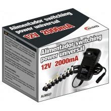Alimentador Electronico 12v 2 amp Multiconector