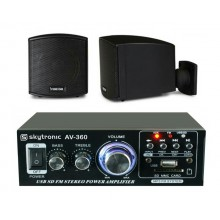 KIT AMPLIFICADOR USB + CUBE 62