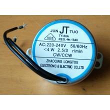 Motor Asincrono TY-50A 4W 2A 3 rpm. - Imagen 1