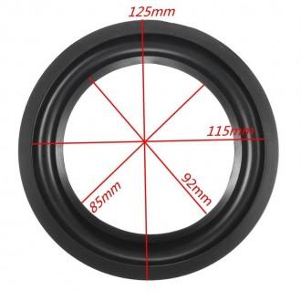 Suspension 5 Pulgadas Goma 12,5mm - Imagen 1