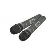 Citronic RU210-H Sistema dual UHF Micrófono sintonizable