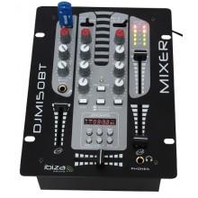 MESA DE MEZCLA DOS CANALES CON USB-MP3 + BLUETOOTH - Imagen 1