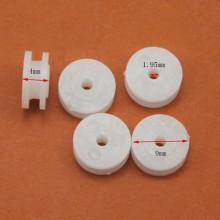 Polea Plastico Juguetes Trabajos Manuales 9x4 mm
