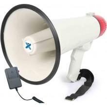 Megáfono 40W Grabación, sirena, micrófono. MEG040 Vonyx
