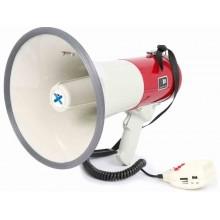 Megáfono 50W grabacion, sirena y micro.