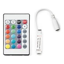 Controlador Mini para Tiras de LEDs RGB con Mando 12VDC hasta 72W