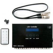 Controlador DMX 24VDC con Mando a Distancia