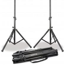Set de soportes de altavoz con bolsa de transporte VONYX