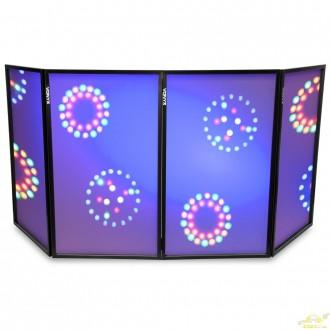 Pantalla Vonyx DJ plegable 120 x 70 (4 Paneles) - Imagen 1