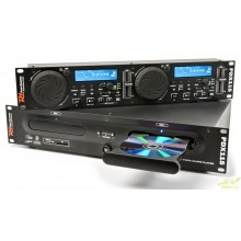 Power Dynamics PDX115 Doble Reproductor CD/SD/USB/MP3