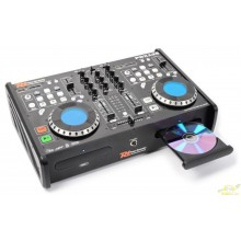 Power Dynamics PDX125 Reproductor Doble CD/SD/USB/MP3