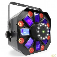 BeamZ MultiAcis IV LED con laser y strobe