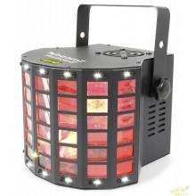 BeamZ Radical II Derby LED con laser RG y strobo