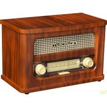 RADIO VINTAGE AUTONOMA CON BLUETOOTH & FM 2 X 10W