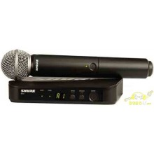 Micrófono Shure SM58 + receptor BLX24