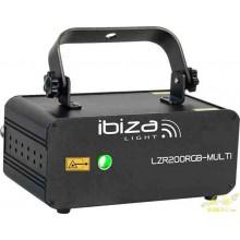 EFECTO LASER RGB FIREFLY CON DMX 200mW