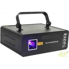 LASER RGB DE ANIMACION CON DMX 500mW