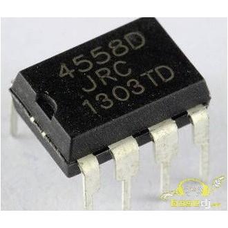 Amplificador opercional JRC4558