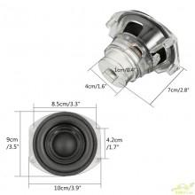 Altavoz Repuesto Subwofwer 9 CM Diametro
