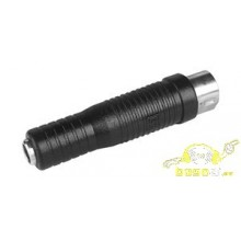 Adapatador DIN Macho 5 Pines a Jack Hembra 6,5mm