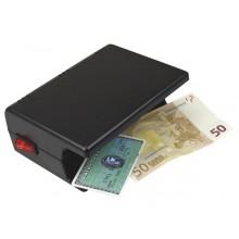 Detectores de billetes y contadores.